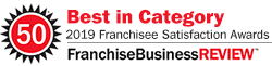 2019 Franchise Business Review Best in Category